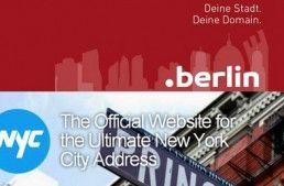 Ciudades y Dominios: Nueva York (.nyc) y Berlin (.berlin), entre muchos otros