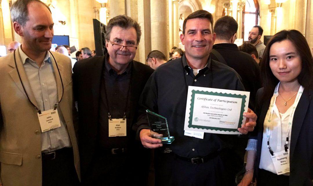 DeviceAtlas gana el premio a la Innovación IHS Markit 2017