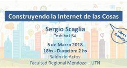 Conferencia «Construyendo Internet de las Cosas» en Mendoza