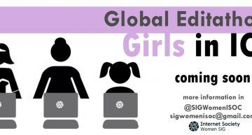 Unite al 1er GLOBAL EDITATHON «GIRLS IN ICT 2018»