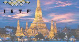 Comming soon: IETF 103 Bangkok  3 – 9 Nov 2018