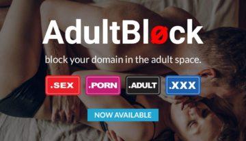 101domain lança o novo serviço AdultBlock do MMX & ICM Registry para bloquear registros em .ADULT, .PORN, .SEX e .XXX
