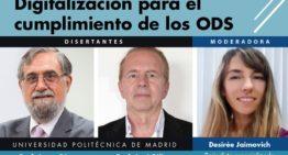 """Mundo Conectado: Webinar """"TIC y Sostenibilidad. Digitalización para el cumplimiento de los Objetivos de Desarrollo Sostenible (ODS)""""."""