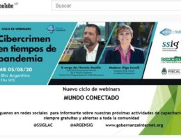 "Mundo Conectado: Accedé al webinar ""Cibercrimen en tiempos de pandemia"""