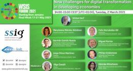 """WSIS Forum 2021 Workshop """"Nuevos desafíos para la transformación digital en economías en desarrollo"""""""
